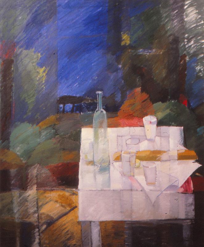 Notturno 120x135, Agneta Freccero 1985