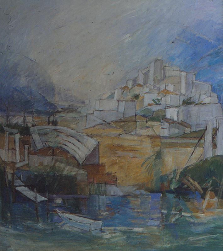 Minturno 135x150, Agneta Freccero 1989