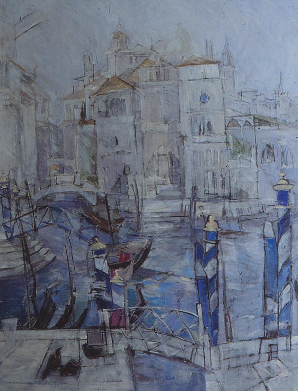Venezia 150x195, Agneta Freccero 1990