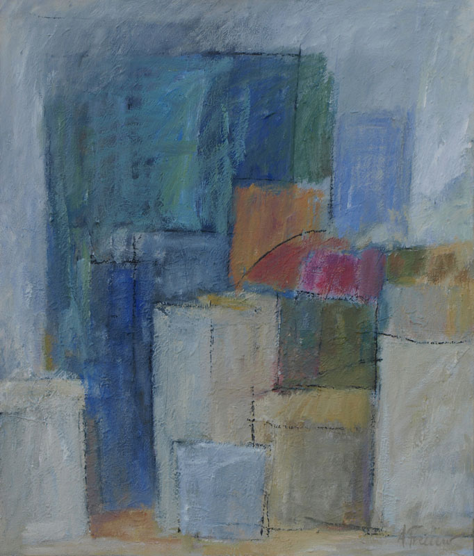 Bazar, 85x100, Agneta Freccero 2011