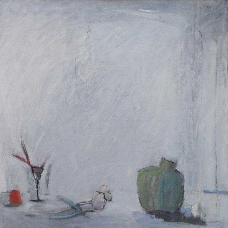 Skörd, 100x100, Agneta Freccero 2011