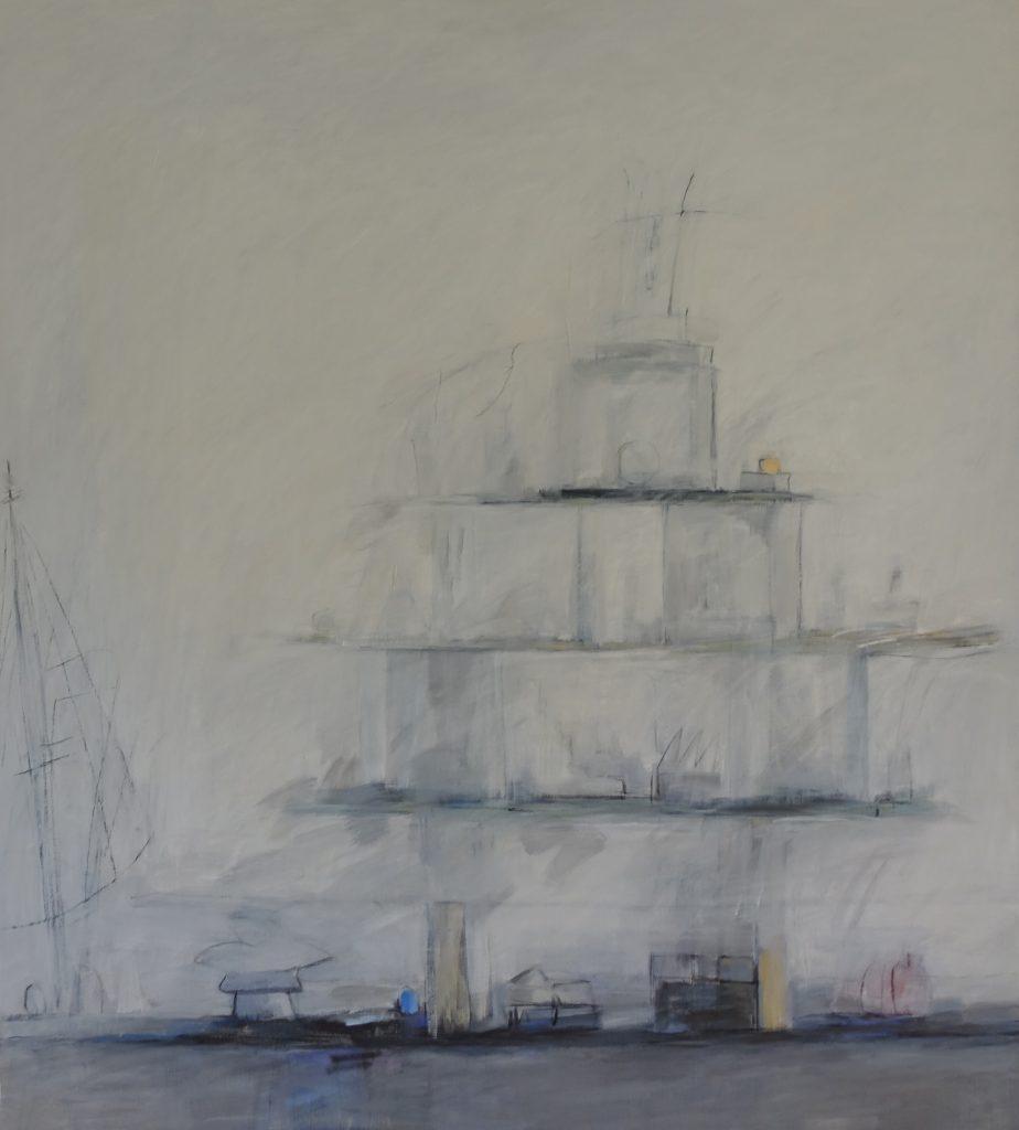 Pyramid, 135x150, Agneta Freccero 2018.