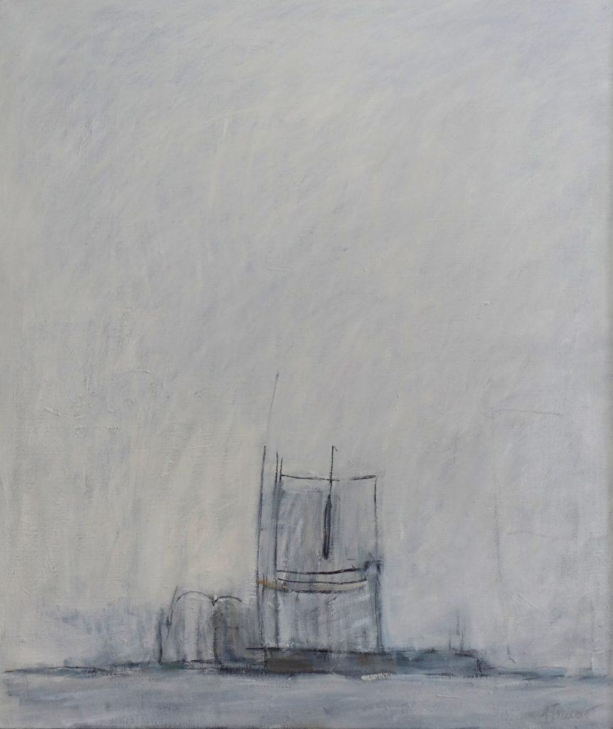 Odysse 3, 85x100, Agneta Freccero 2018.